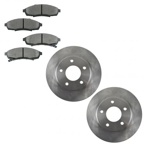 1988-95 Regal Lumina Cutlass Grand Prix Monte Carlo Brake Pad & Rotor Kit Front for 10.5 Inch Rotor