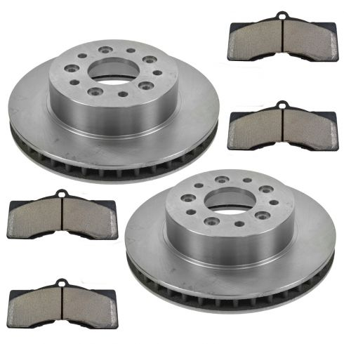 1965-82 Chevy Corvette Brake Pad & Rotor Kit Front
