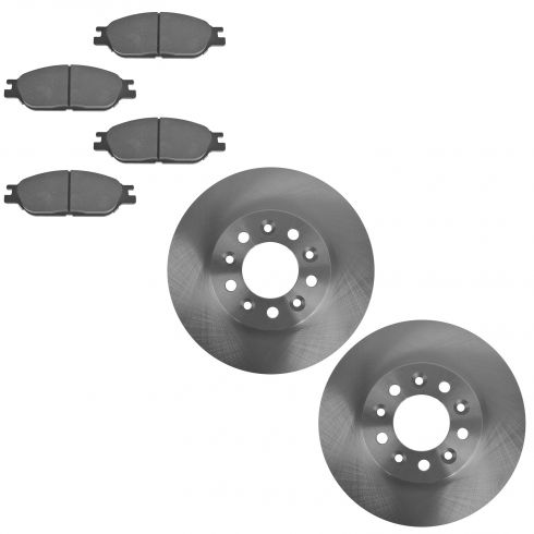 1999-03 Ford Windstar Brake Pad & Rotor Kit Front