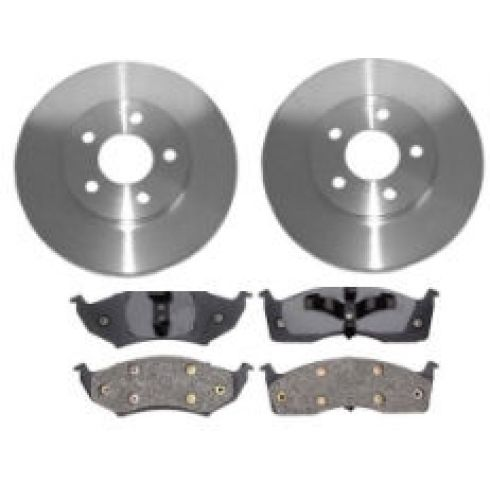 1995-97 Dodge Plymouth Neon Brake Pad & Rotor Kit Front
