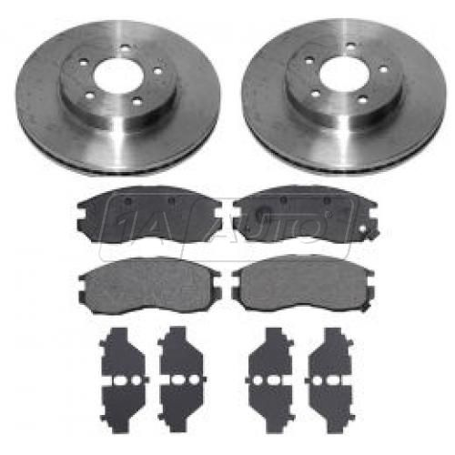 2000-04 Chrysler 300M Concorde Dodge Intrepid Brake Pad & Rotor Kit Front