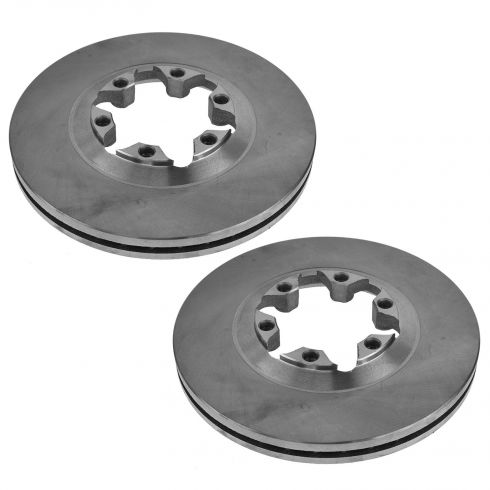 2004-08 Canyon, Colorado; 2006 Isuzu I-280, I-350; 2007 I-290, I-370 Front Rotor PAIR
