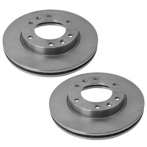 Front Disc Brake Rotor PAIR