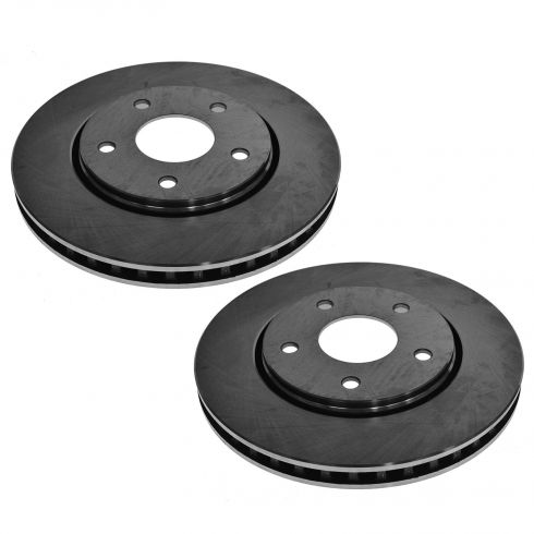 FRONT Disc Brake Rotor PAIR (AUTO EXTRA AX900524)