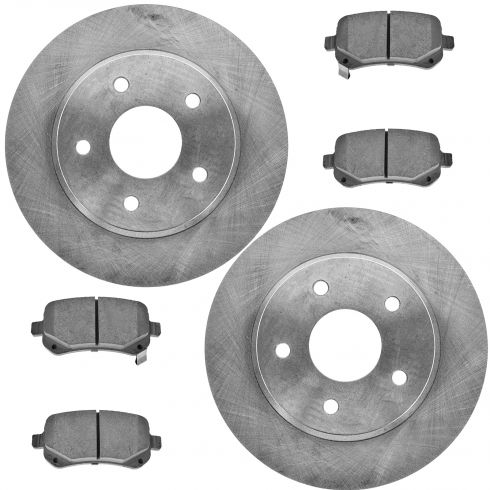 REAR Ceramic Disc Brake Pad & Rotor Kit (AX900526 & AXCD1326)