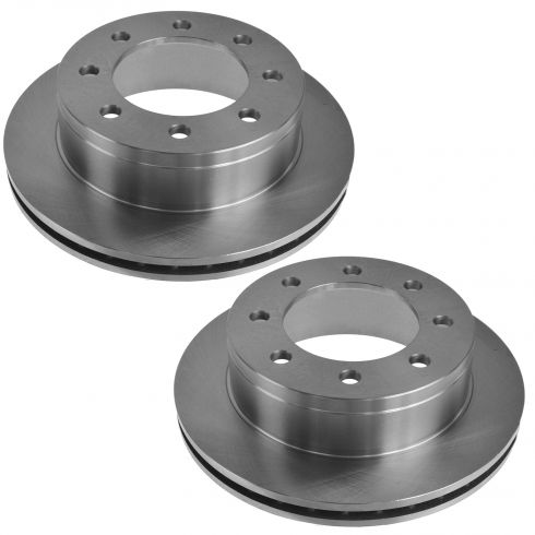 Disc Brake Rotor Rear PAIR (AUTO EXTRA AX55055)
