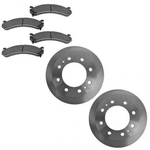 FRONT Ceramic Disc Brake Pad & Rotor Kit (AX55062 & AXCD784)