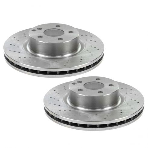 Disc Brake Front Rotor PAIR (AUTO EXTRA AX34200)