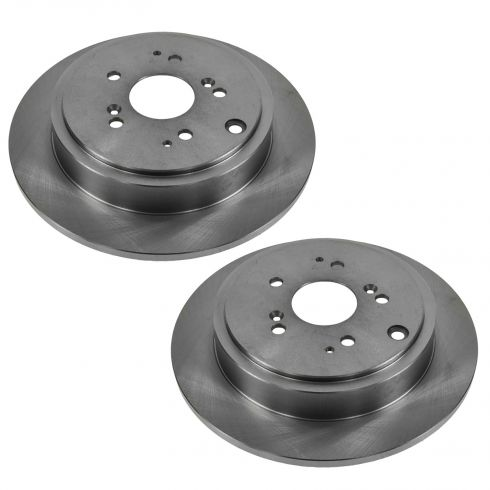 Rear Disc Brake Rotor (AUTO EXTRA AX31318) PAIR