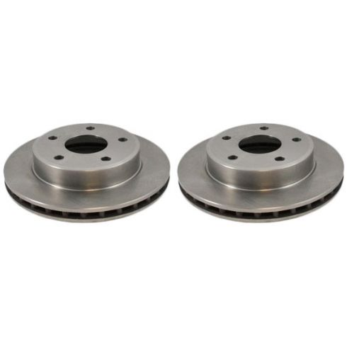 Front Disc Brake Rotor (AUTO EXTRA AX53025) PAIR