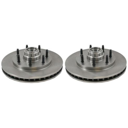 Front Disc Brake Rotor (AUTO EXTRA AX54052) PAIR