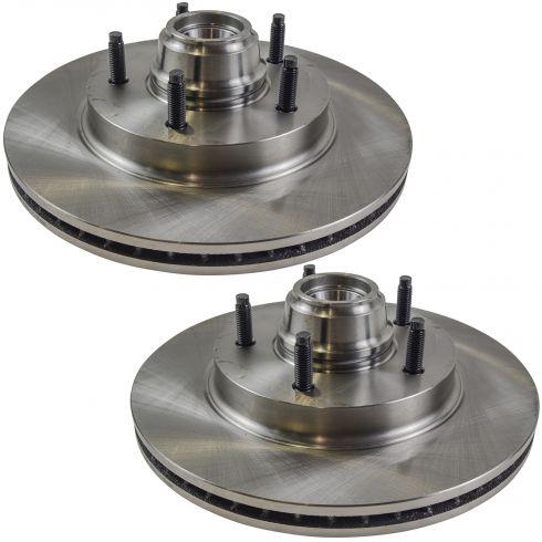 Front Disc Brake Rotor (AUTO EXTRA AX54069) PAIR