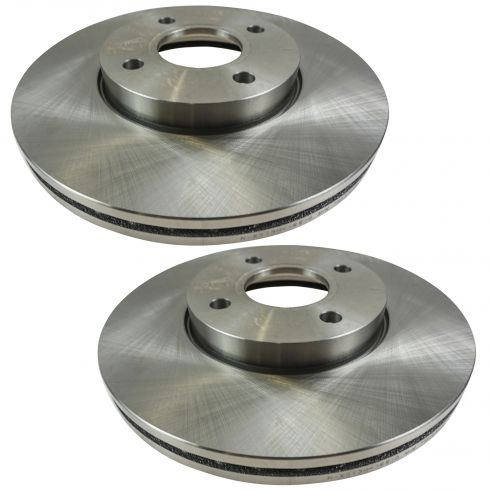 Front Disc Brake Rotor (AUTO EXTRA AX54132) PAIR