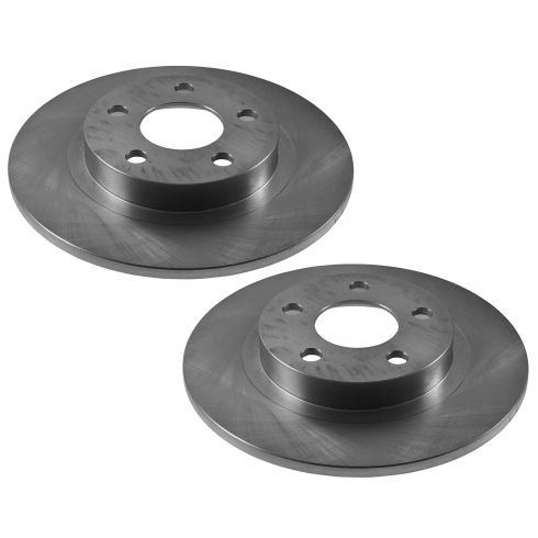 Rear Disc Brake Rotor (AUTO EXTRA AX55051) PAIR