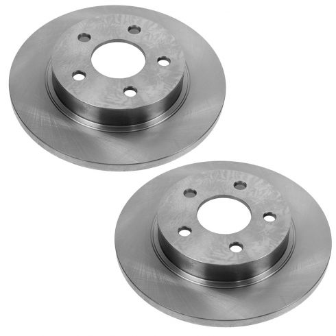 Rear Disc Brake Rotor (AUTO EXTRA AX55094) PAIR