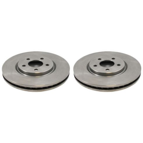 Front Disc Brake Rotor (AUTO EXTRA AX53009) PAIR