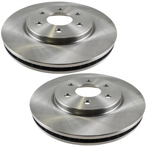 05-11 Nissan Frontier Pathfinder Xterra Equator 4.0L Front Disc Brake Rotor PAIR