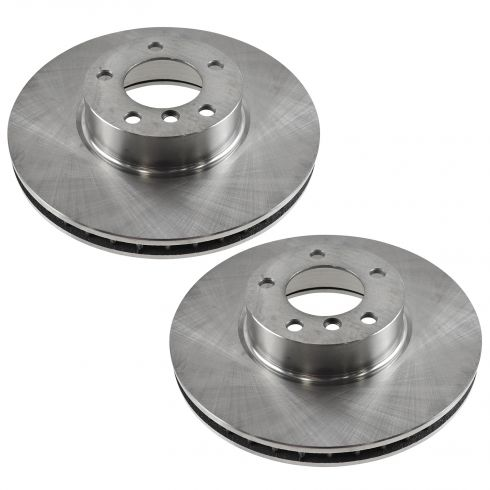 01-03 BMW 530i; 540i Front Disc Brake Rotor PAIR