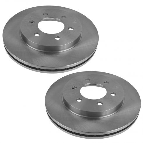 04-08 Ford F150; 06-08 Lincoln Mark LT 4WD 6 Lug Front Disc Brake Rotor PAIR