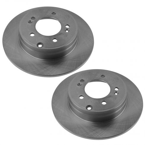 10 Hyundai Azera; 06-11 Sonata 3.3L Rear Disc Brake Rotor PAIR