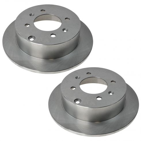 01-06 Kia Magentis; 01-06 Optima; 99-05 Sonata Rear Disc Brake Rotor PAIR