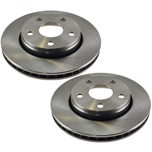 07-11 Jeep Wrangler Front Disc Brake Rotor PAIR