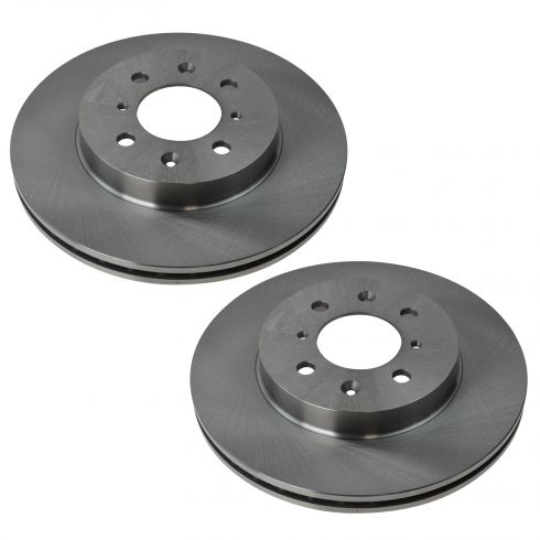 90-05 Acura; 90-10 Honda Multifit Front Disc Brake Rotor PAIR
