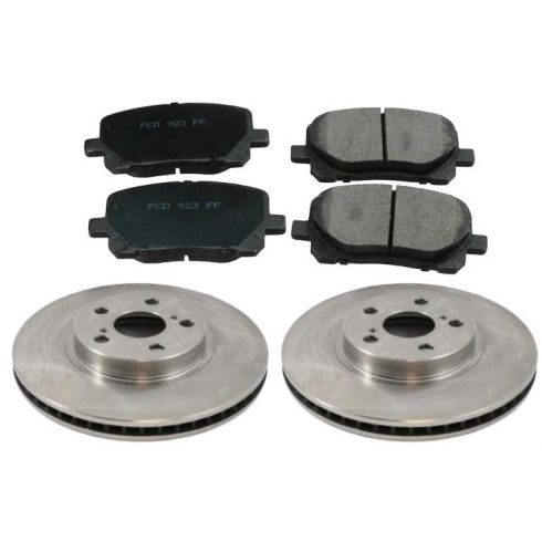 03-05 Matrix, Vibe, Corolla Front Brake Pad & Rotor Kit Ceramic