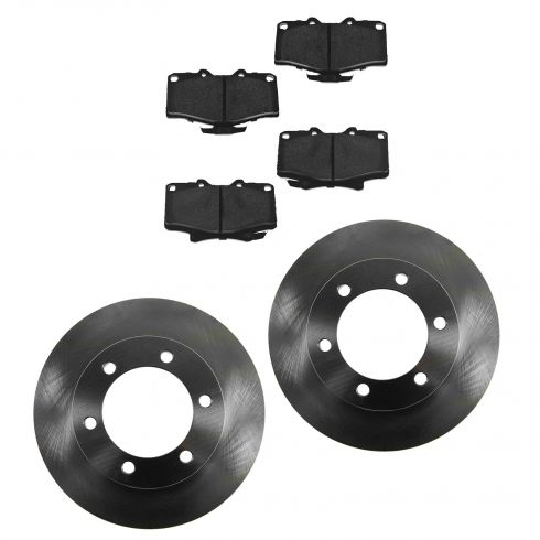 Front Disc Brake Rotor & Pad Set AX31204, AXMD611