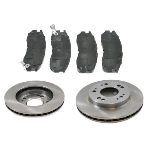 Front Disc Brake Rotor & Pad Set AX31179,  AXMD484