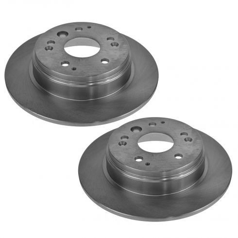 03-10 Honda Element; 04-08 Acura 3.2TL; TL Rear Brake Rotor Pair