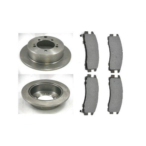 Brake Pad & Rotor Kit PREMIUM SEMI-METALLIC