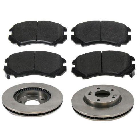 Front Disc Brake Rotor & Rotor Set AX31337, AXMD924