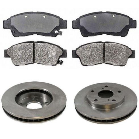 Front Disc Brake Rotor & Pad Set AX3291, AXMD562