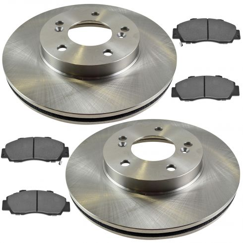 Front Disc Brake Rotor & Pad Set AX3296, AXMD503