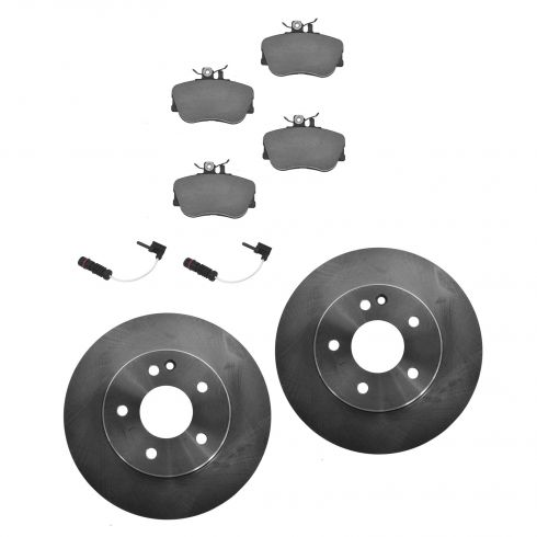 Front Disc Brake Rotor & Pad Set  AX34091, AXMD645