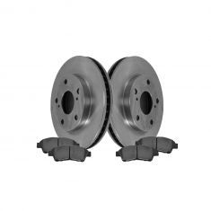 Front Disc Brake Rotor & Pad Set AX3291, AXCD562