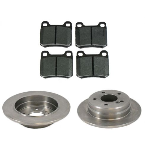 Rear Disc Brake Rotor & Pad Set  AX34092,  AXMD335
