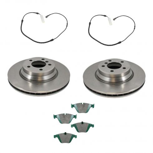 Front Disc Brake Rotor & Pad Set  AX34250, AXCD918