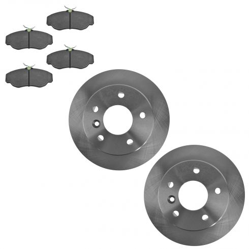 Front Disc Brake Rotor  & Pad Set AX34253, AXMD676