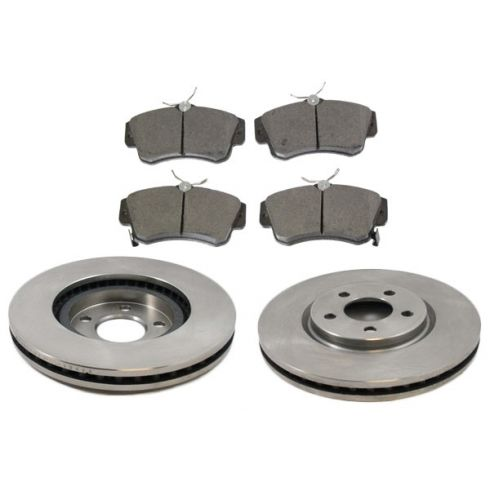 Front Disc Brake Rotor & Pad Set AX53009, AXCD841