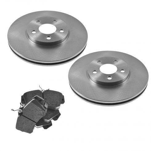 Front Disc Brake Rotor & Pad Set AX53000,  AXMD841