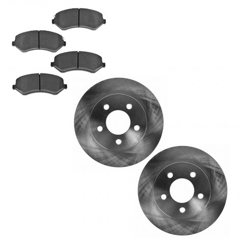 Front Disc Brake Rotor & Pad Set AX53001, AXMD856