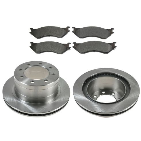 Rear Disc Brake Rotor & Pad Set  AX53011,  AXMD702A