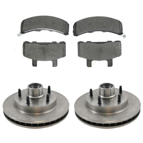 Front Disc Brake Rotor & Pad Set  AX5357, AXCD369