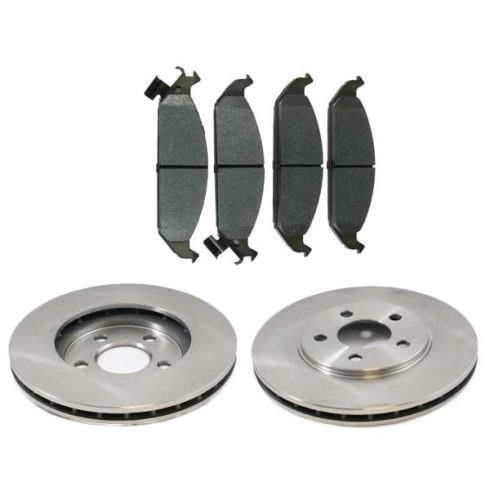 Front Disc Brake Rotor & Pad Set  AX5362,  AXMD650