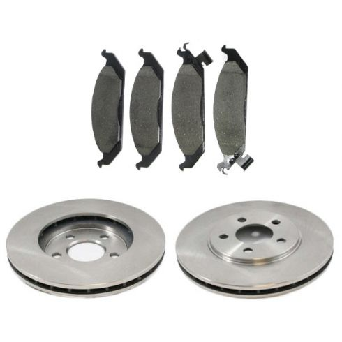 Front Disc Brake Rotor & Pad Set  AX5362,  AXCD650