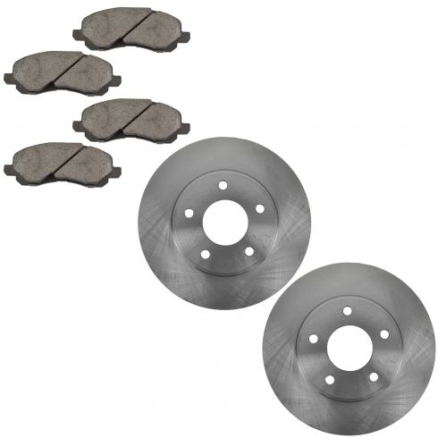 Front Disc Brake Rotor & Pad Set  AX5399, AXCD866