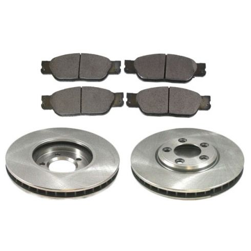 Front Disc Brake Rotor & Pad Set  AX54088, AXCD805