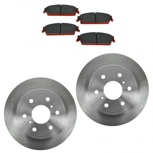 Rear Disc Brake Rotor & Pad Set  AX55133, AXCD1194